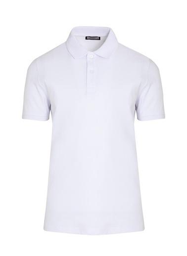 Hatemoğlu Polo Yaka Tişört Beyaz